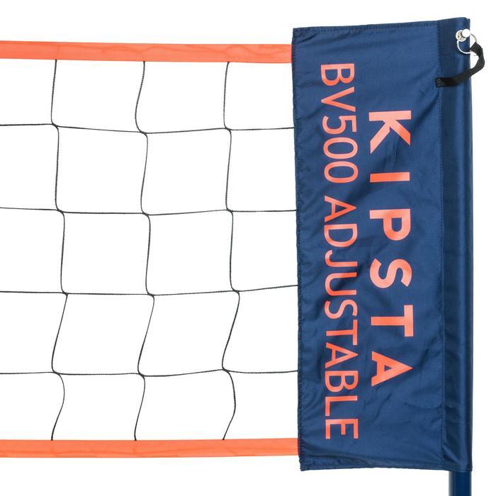 Volleybalnet / Beachvolleybalnet BV500 verstelbaar tot 9m breed