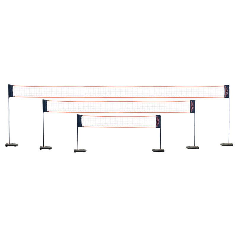 BEACH-VOLLEY Volleyball and Beach Volleyball - BV 500 Adjustable Set COPAYA - Sports