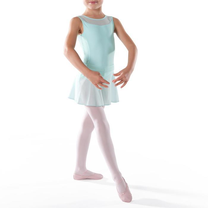 Ballettrock Tüll Kinder grün