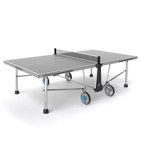 Table de ping pong artengo ft 860 outddor artengo - Decathlon table de ping pong ...