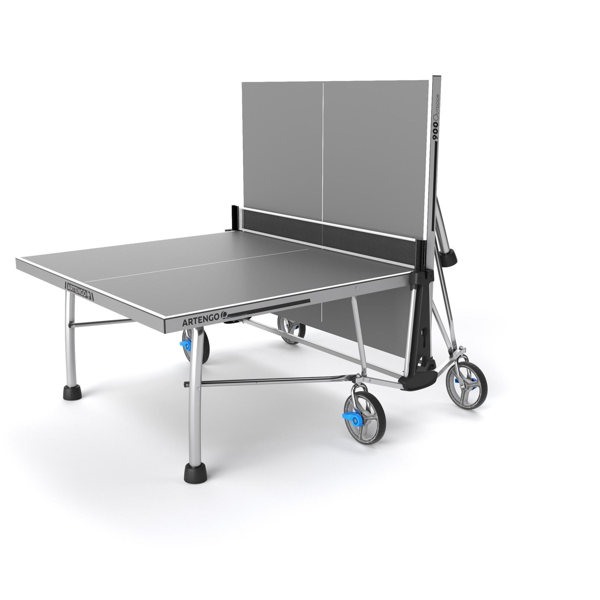 Table de ping pong artengo ft 860 outddor artengo - Tavolo ping pong artengo ...