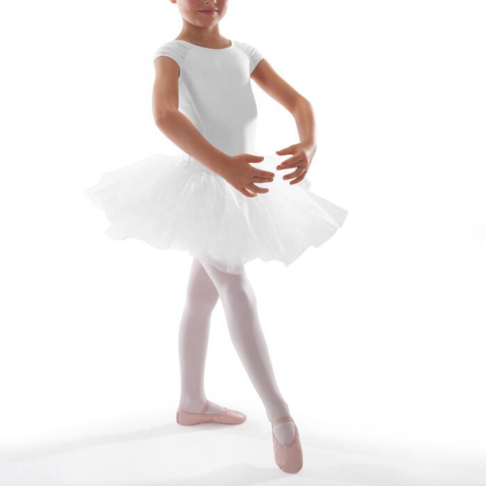 Ballettrock Tutu Mädchen weiß