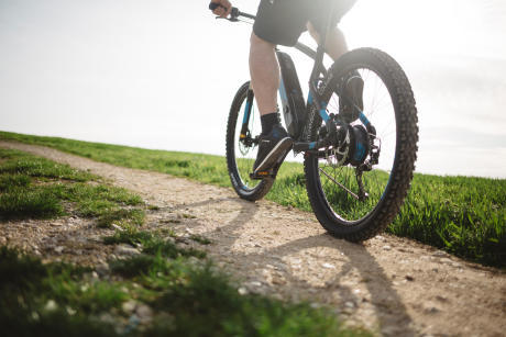 Rockrider e-ST 500 mountain bike - natural pedalling advice