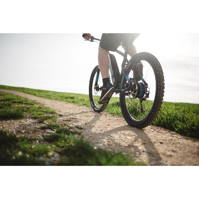 "E-Mountainbike E-ST 500 E-MTB 27,5"" schwarz/blau"