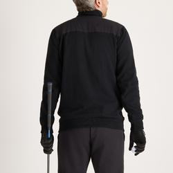 Golf Pullover winddicht warm Herren schwarz