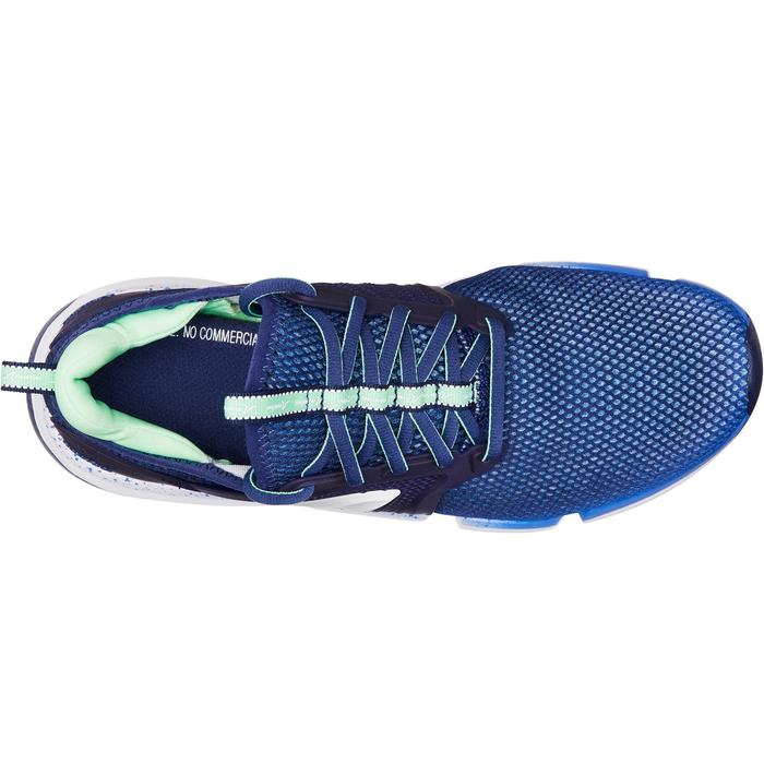 Chaussures marche sportive femme PW 590 Xtense bleu / vert