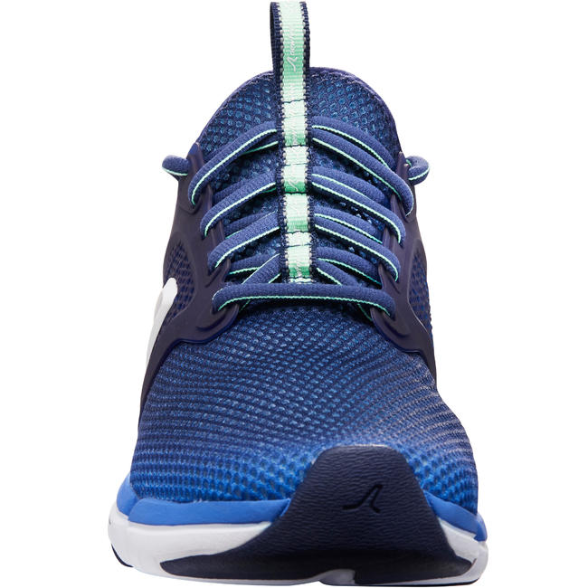 PW 590 Xtense Women's Fitness Walking Shoes - Blue/Green