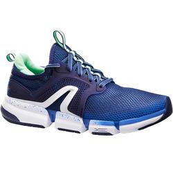 Zapatillas Caminar PW 590 Xtense Mujer Azul/Verde