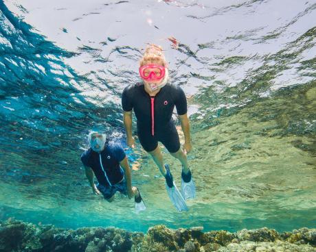 浮潛時防曬的重要性