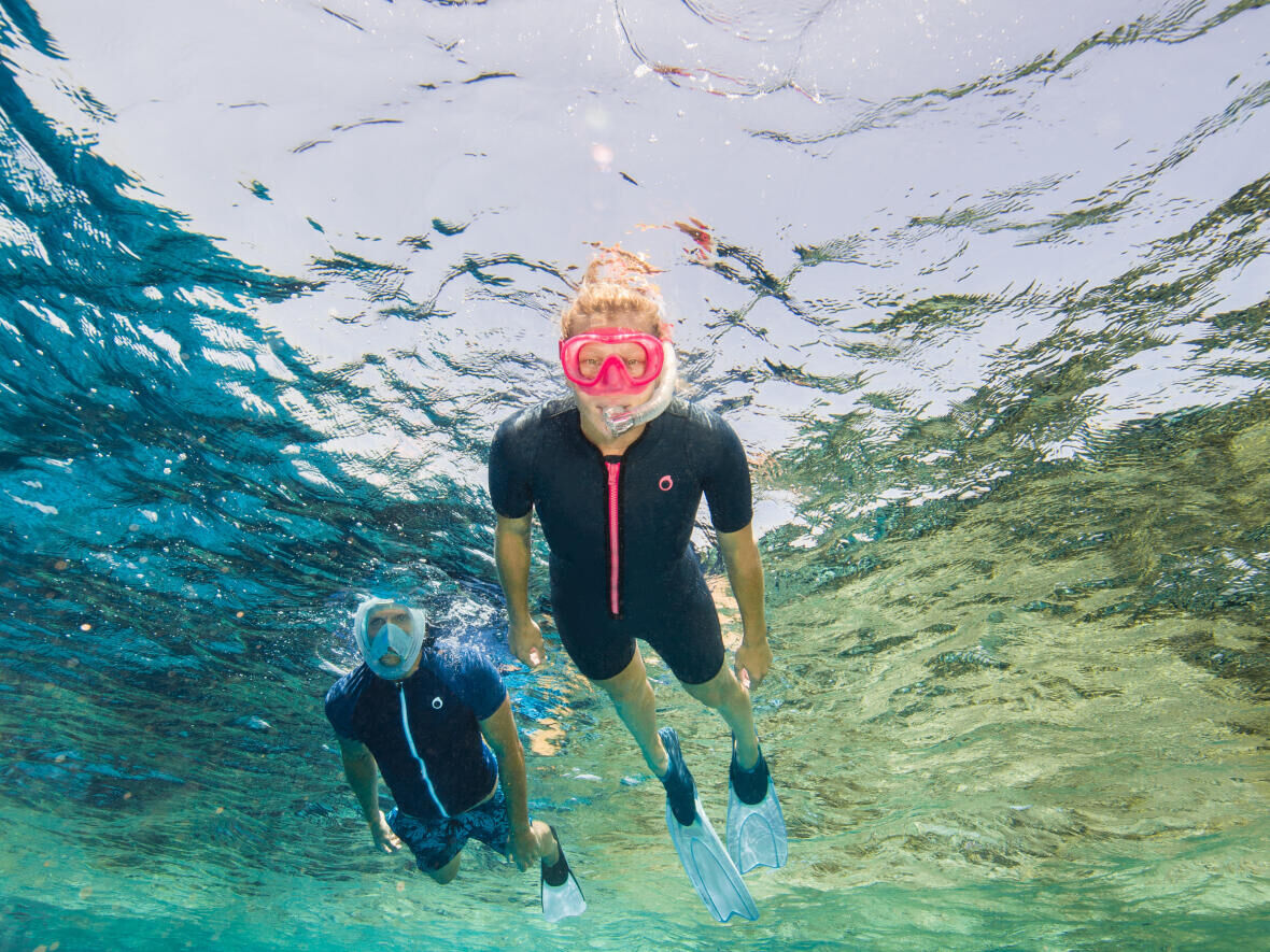 La protection solaire en snorkeling
