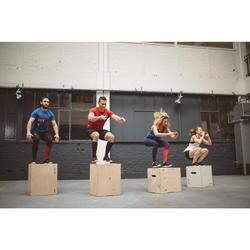 Box Jump Cajón Pliométrico Cross Training Musculación Domyos