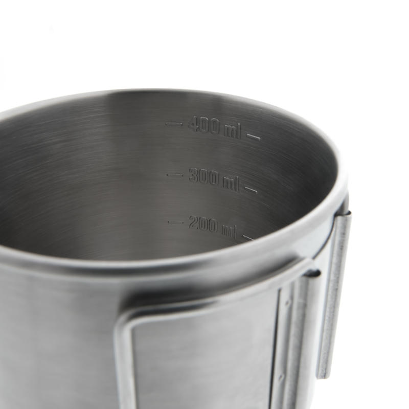 Stainless-Steel Hiker's Camping Mug MH150 (0.4 Litre)