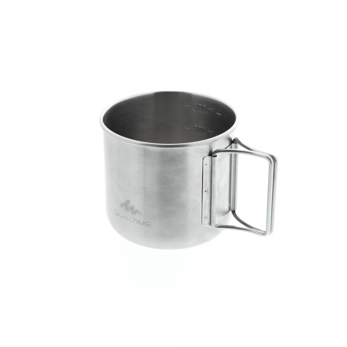 Drinkbeker voor hikers en trekkers MH150 rvs (0,4 liter)