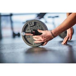 Kit de pesas y barras de musculación Domyos de 50 kg