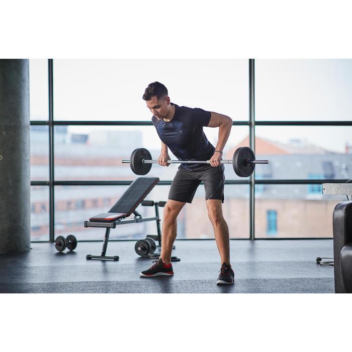 Hantelset mit Stangen und Gewicht Krafttraining 50kg