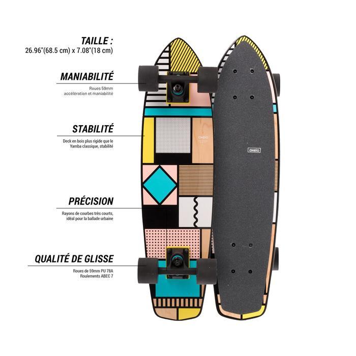 Cruiser Skateboard YAMBA BOIS Classic - 1487885