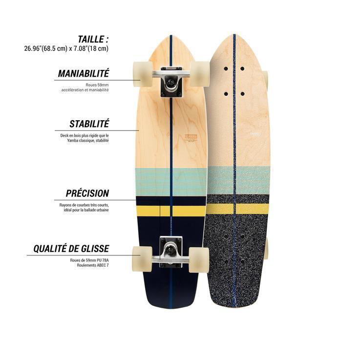 Cruiser Skateboard YAMBA BOIS Classic - 1487895