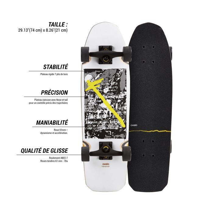 Cruiser Skateboard CITY THRASHER RIDE - 1487899