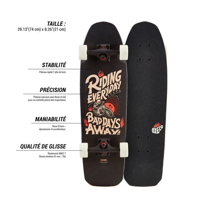 Cruiser Skateboard CITY THRASHER RIDE - 1487908