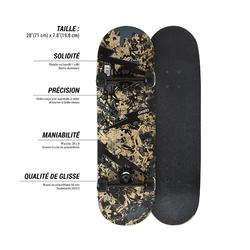 Skateboard junior MID100 SKULL