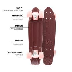 Cruiser Skateboard Yamba bordeaux