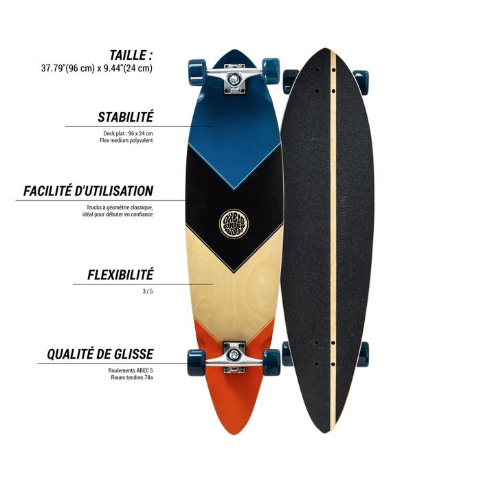 Longboard Beginner Root blau