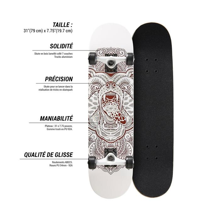 Skateboard MID500 Bear