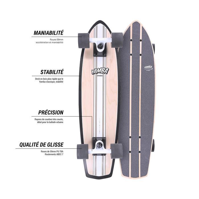 Cruiser Skateboard YAMBA BOIS Classic - 1487923