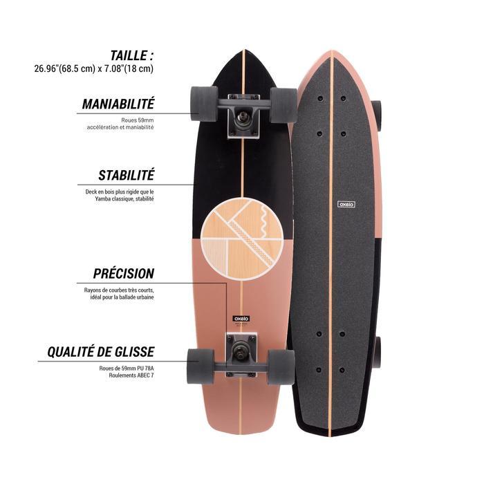 Cruiser Skateboard YAMBA BOIS Classic - 1487925