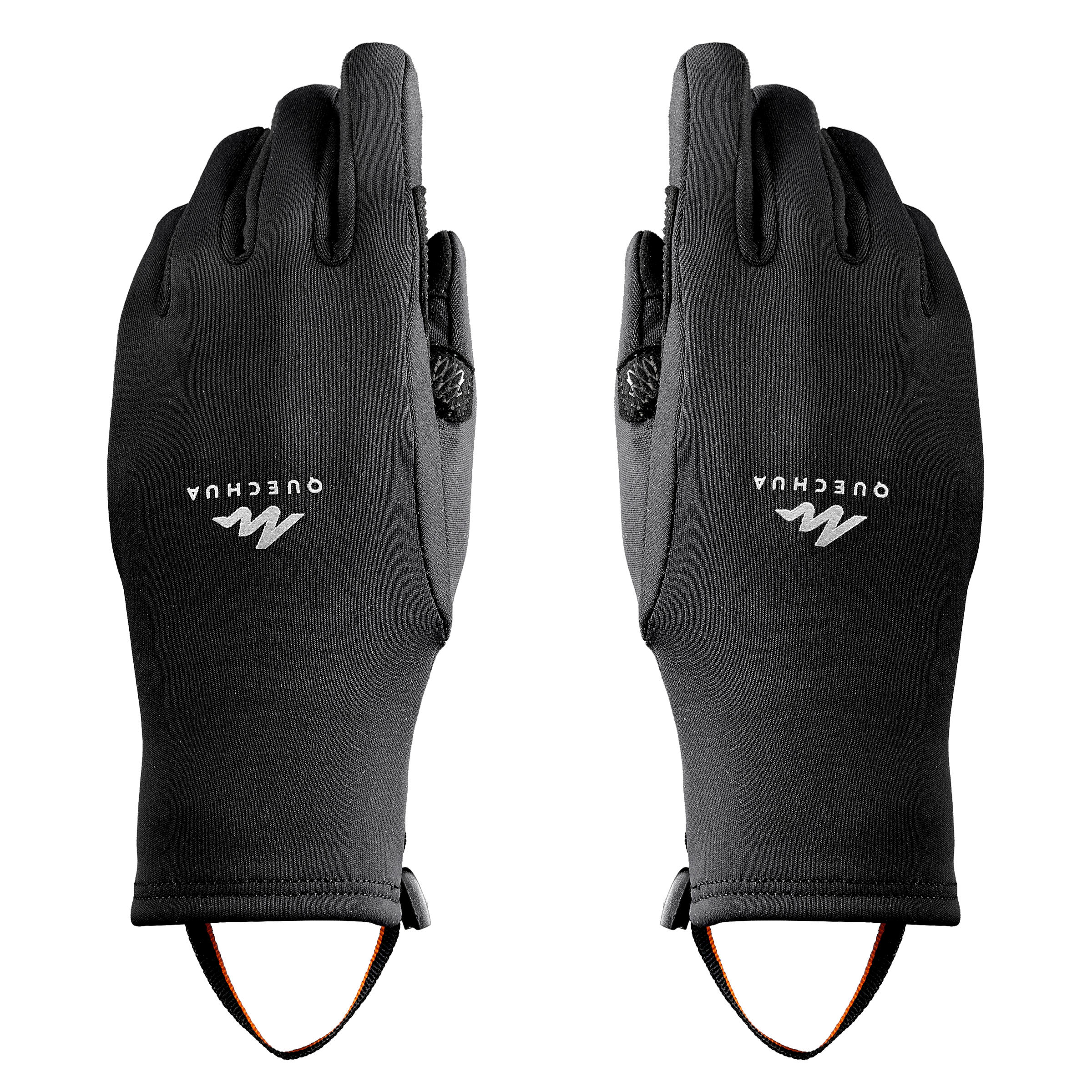 Kids' Touchscreen Compatible Hiking Gloves - SH500 STRETCH - 6-14 Years - 8 By QUECHUA   Decathlon