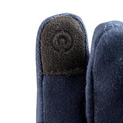 Gants stretch de randonnée enfant MH500 bleus