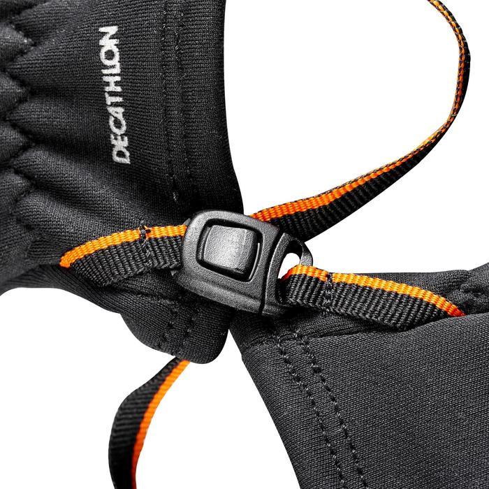 Stretch wandelhandschoenen voor kinderen SH500 zwart