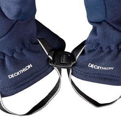Handschuhe MH500 Stretch Wandern Kinder blau