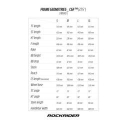 MTB ROCKRIDER 540 GRIS