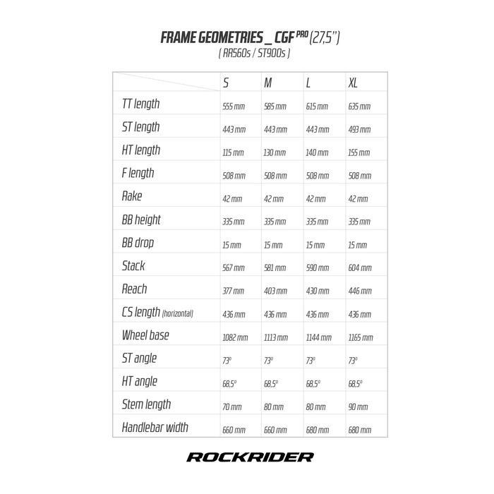 """VTT ROCKRIDER 560 S BLEU FONCE 27,5"""""""