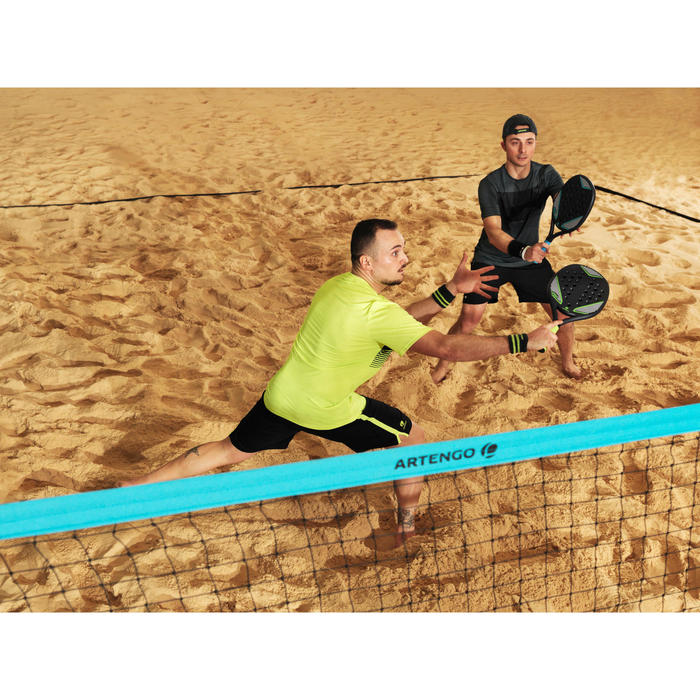 Beachtennis set met palen en net