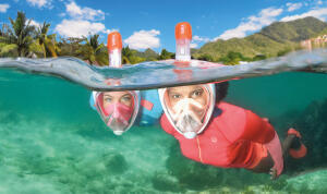 máscara de snorkeling easybreath subea perguntas mais frequentes decathlon