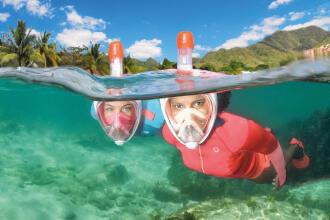 repair easybreath mask snorkeling subea