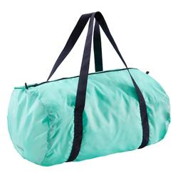 Bolsa fitness cardio-training plegable 30 L verde menta
