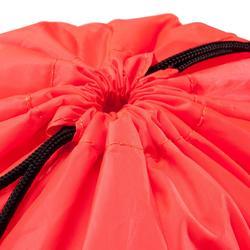 Bolsa calzado fitness plegable rosa