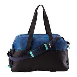 Sporttasche Premium Fitness 30l blau/schwarz/grün