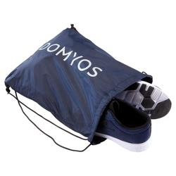 Sac chaussure fitness pliable bleu