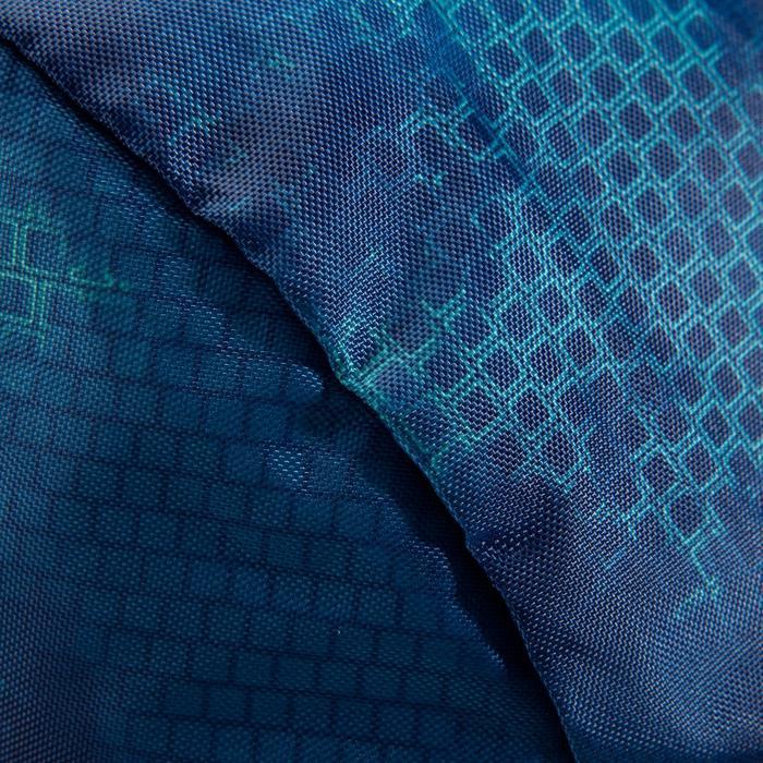 Bolsa de deportes gimnasio Cardio Fitness Domyos 30 litros Pocket plegable azul