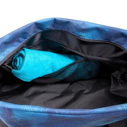 Cardiofitness tas 30 liter zwart blauw en groen