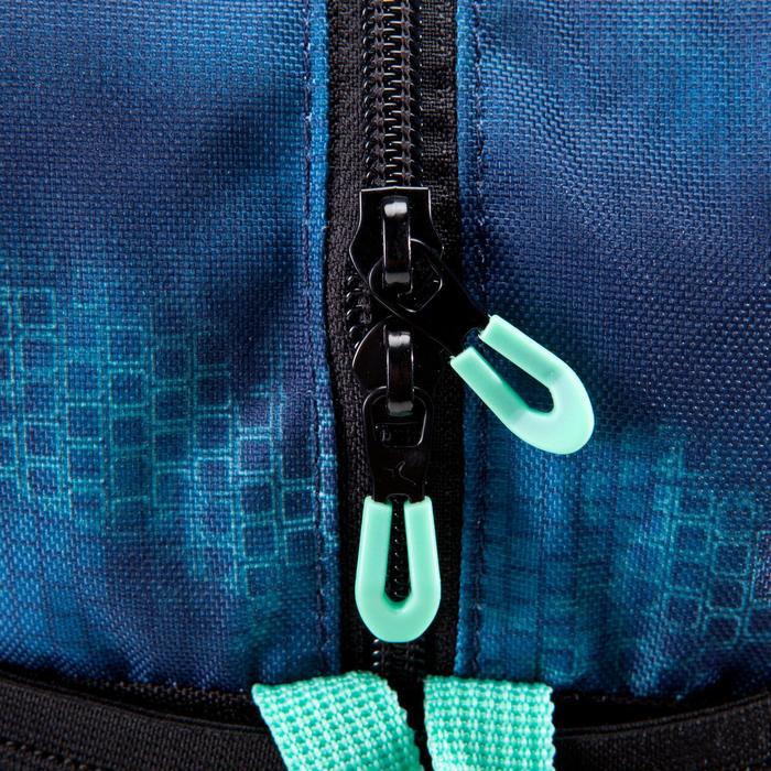 Sac fitness cardio-training 30 Litres noir bleu et vert