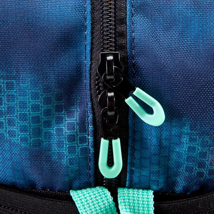 Sporttasche Fitness 30l blau/schwarz/grün