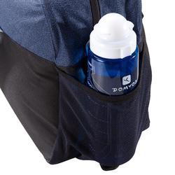 Bolsa de deportes gimnasio Cardio Fitness Domyos 30 litros azul gris