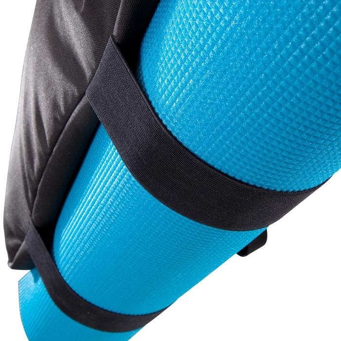 Sac fitness cardio-training 30 Litres noir et bordeau