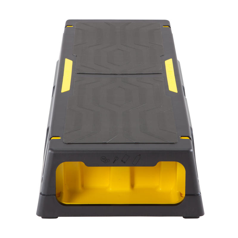 STEP CONFORT NEGRO AMARILLO