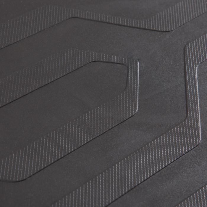 Stepbank Komfort schwarz/gelb